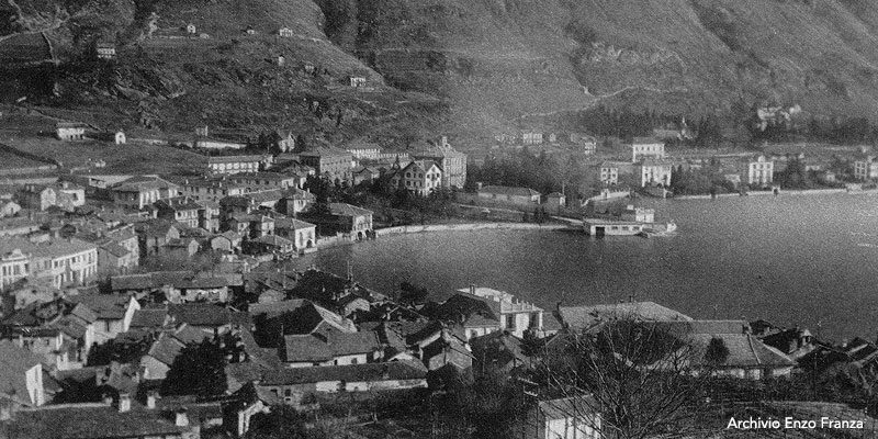 Canottieri Omegna Lago d'Orta foto storica